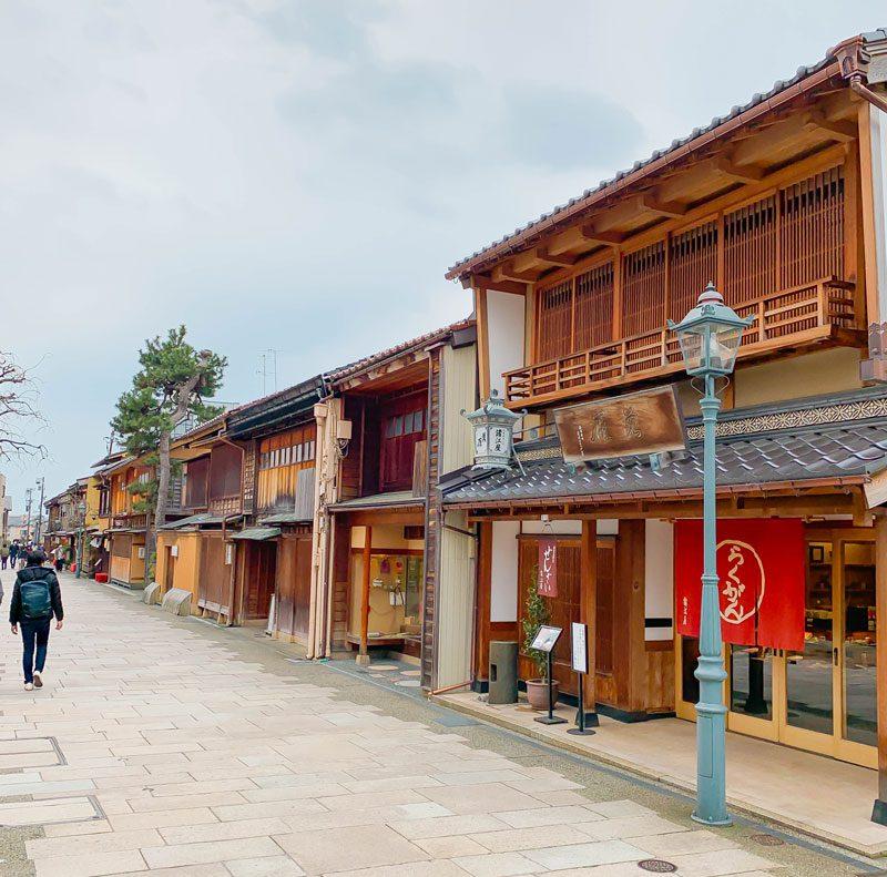 にし茶屋街の景観