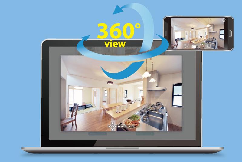 360度VR画像サービス